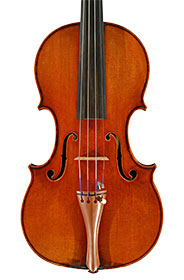 Violin made by Wolfgang Schiele