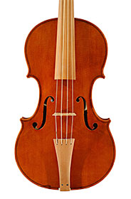 Baroque violin made by Wolfgang Schiele
